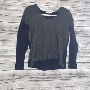 Madewell Kimball Pullover Colorblock Sweater